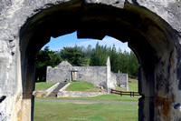 Penal colony ruins at Kingston
