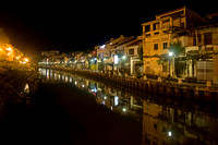 The Malacca River at Night